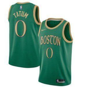 Authentic Boston Celtics Jayson Tatum City Jersey